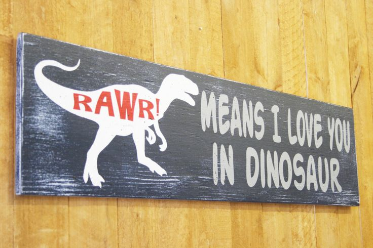 Rawr Means I Love You In Dinosaur Wood Sign Boys Nursery Decor Nursery Wall Art Dinosaur Nursery Navy And Red Baby Gift Boys Bedroom Decor
