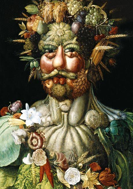 Giuseppe Arcimboldo - Vertumnus, 1590-91
