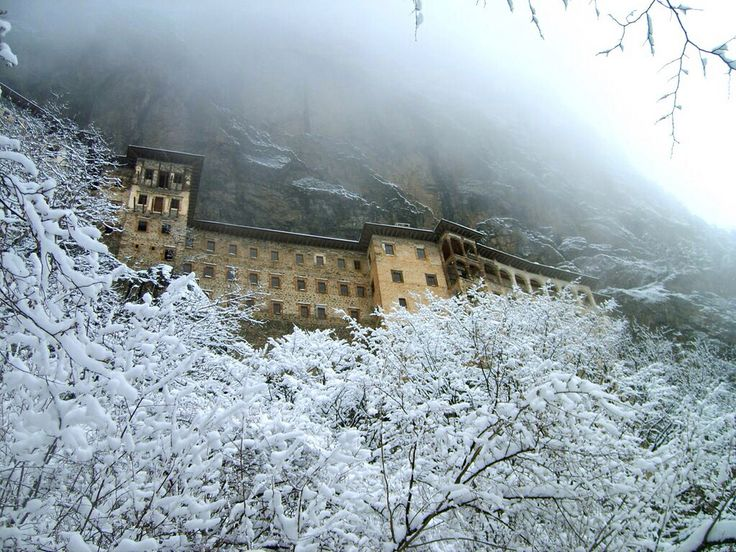 Sumela Monastery, AD 365-395