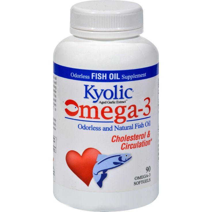 Kyolic Aged Garlic Extract Epa Cardiovascular - 90 Softgels