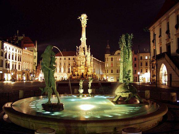 Plaza Olomouc, República Checa.