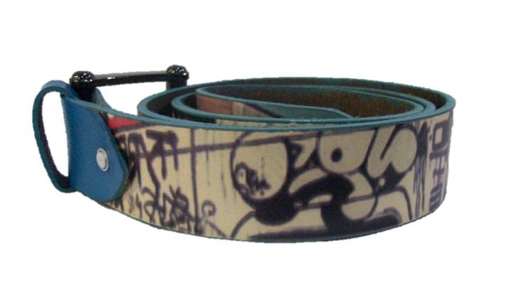 LEATHER ENGRAVED-BELT. CASUAL & INFORMAL BELTS.