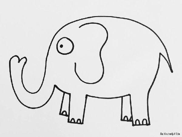 Kleurplaten Voor Kinderen Kleuters En Peuters.Eenvoudige Kleurplaten Voor Peuters En Kleuters Eenvoudige