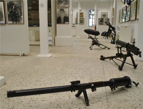 Inside of The War Museum in Chania Crete