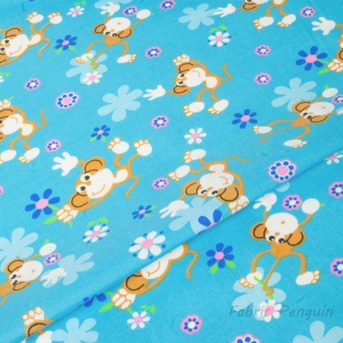 Enfants-tissu-en-Polycoton-Bebe-Nurserie-Enfants-Fille-Garcon-materiel-robe-chouettes