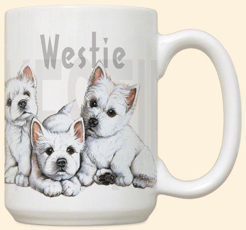 Westie Puppies Mug