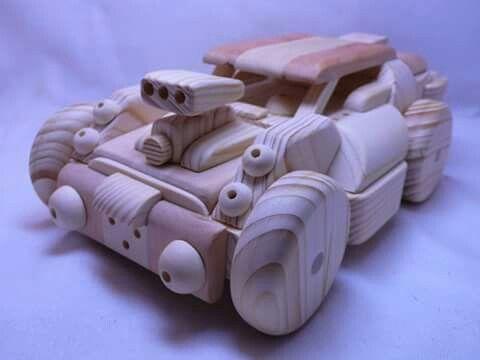 ratrod wooden toys yura woodengalaxy