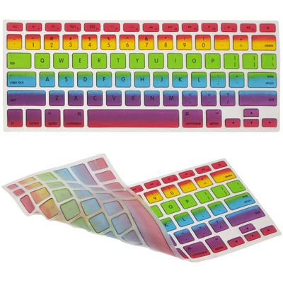 [USD2.06] [EUR1.85] [GBP1.46] Colorful Ultrathin High Quality Keyboard Protector for MacBook Pro 17 inch / MacBook Pro 15 inch / MacBook Pro 13 inch / MacBook Air 13 inch, Size: 28x11.25x0.01cm