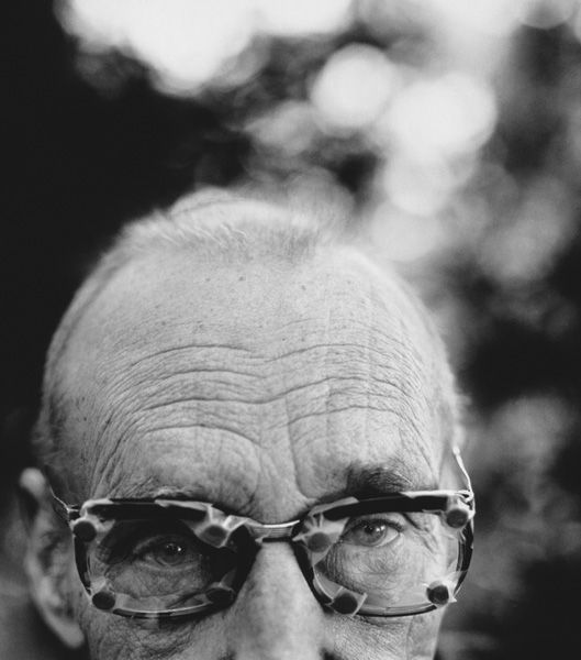 William S. Burroughs © Herb Ritts