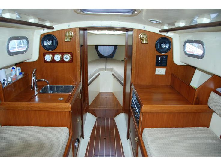35 best contessa 26 images on pinterest yachts sailing for Interior boat designs