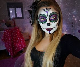 Girlicious Beauty : Mexican Sugar Skull Makeup