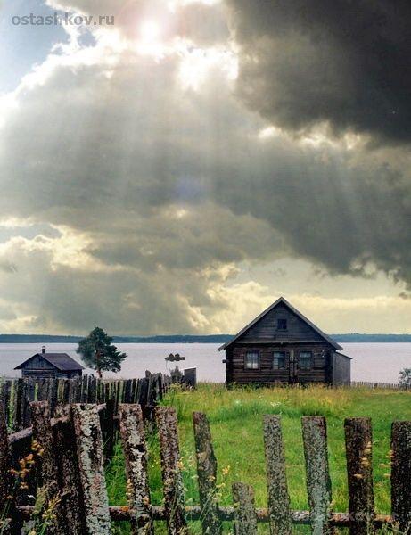 Lake Seliger. city Ostashkov. Tver region