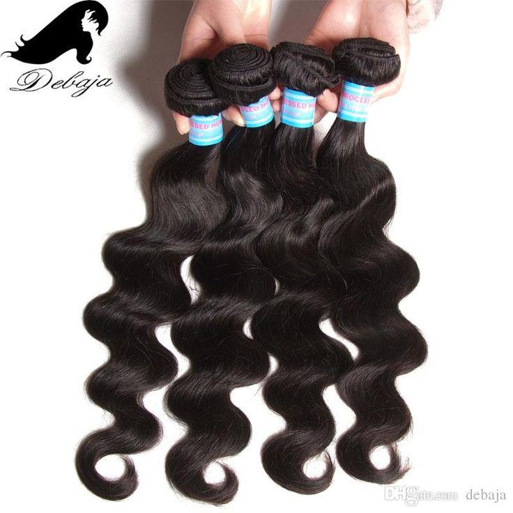 2016 Cheap Body Wave Hair Weft Brazilian Virgin Hair Bundles Natural Black Body Wave Hair Weaves Indian/Peruvian Hair Extension For Women 100g/Pc From Debaja, $38.58 | Dhgate.Com