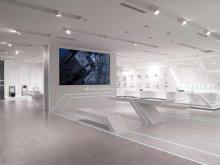 Exhibition Stand Futuristic : La tecnología protagoniza el diseño de baños noken