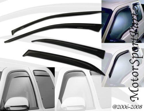 4pcs-Visor-Rain-Guards-For-Nissan-Frontier-2000-2001-2002-2003-2004-Crew-Cab