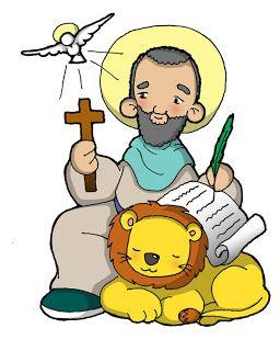 Su fiesta se celebra el 25 de abril         San Marcos fue un judío de Jerusalén de la época de Jesucristo. Acompañó a san Pablo y a Bernab...