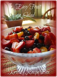 Kristis Recipe Box: Easy Fruit Salad