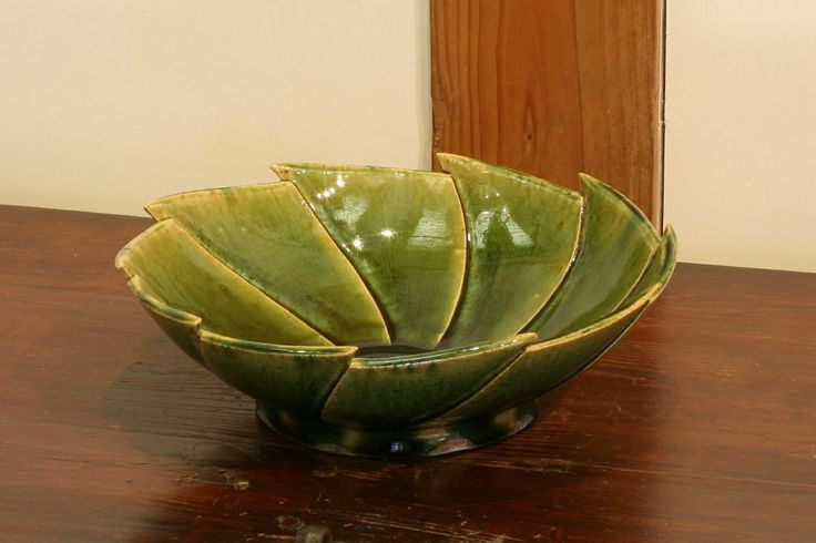 織部刻文鉢 Bowl with engraved, Oribe type 2014
