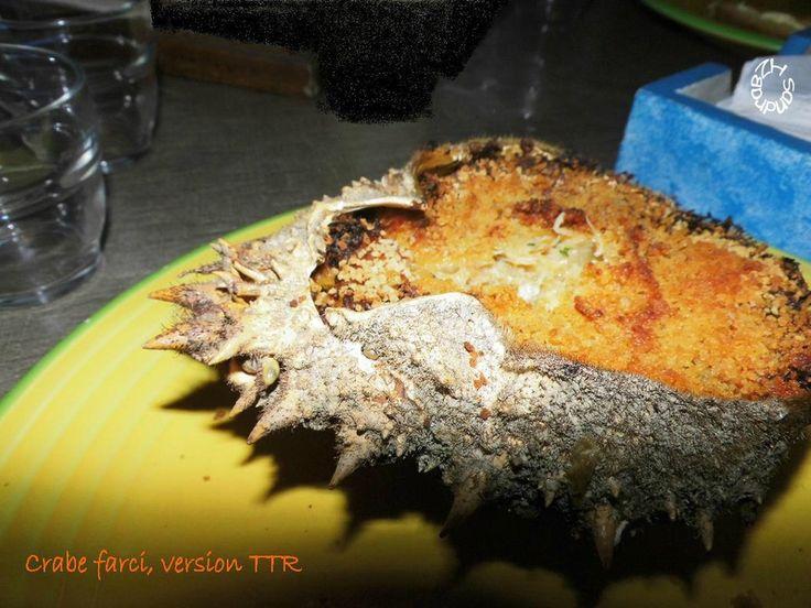 Le crabe farci à la bretonne, façon TTR