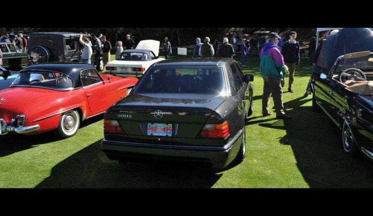 Amelia Concours -- Marque Showcases -- Mercedes-Benz 219 Peking-to-Paris, 220SE (Coupe), 250SL Pagoda and Even 500E HAMMER! — Car-Revs-Daily.com