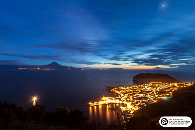 Azores. Pico in the background