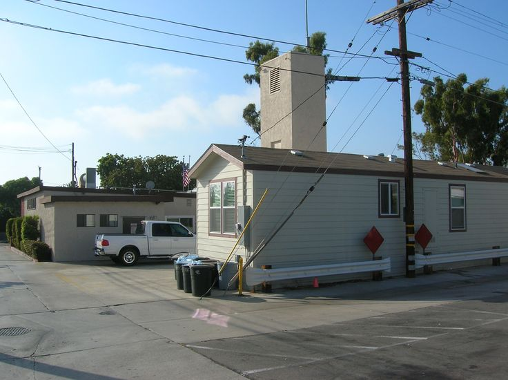 Newport Beach EMT (Factory) House at Fire Station. Specific purpose factory built use