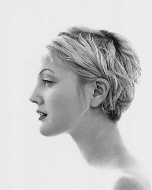 Blonde Pixie Cropped Hair