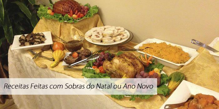 Recettes à faire avec les restes de Noël ou du nouvel an   – Receitas Para o Natal e Ano Novo