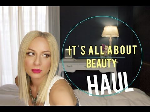 HAUL : It's All About Beauty | gina - YouTube