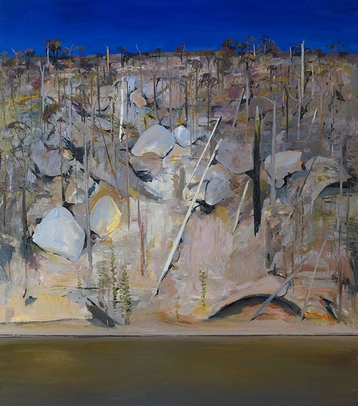 On the banks of Shoalhaven - Arthur boyd