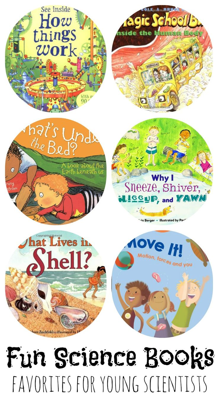 Fun Science Books for Kids Favorites Young Scientists