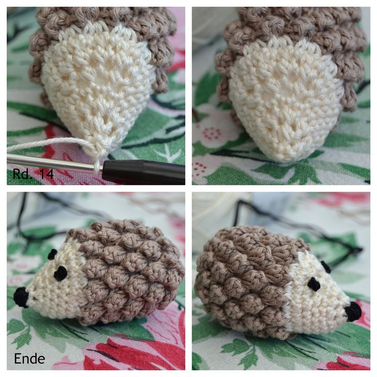Little Hedgehog from Atelier Marie-Lucienne – Adorable and FREE little hedgehog crochet pattern
