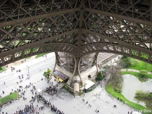 80 best images about la tour eiffel on pinterest paris jules verne and rob - Escalier de la tour eiffel ...