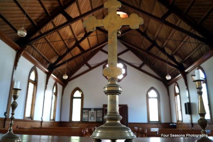 Interior image of Ferrymead Heritage Church.
