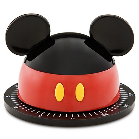 Cute! Best of Mickey Mouse Kitchen Timer. I want to turn my whole kitchen into a Mickey theme!