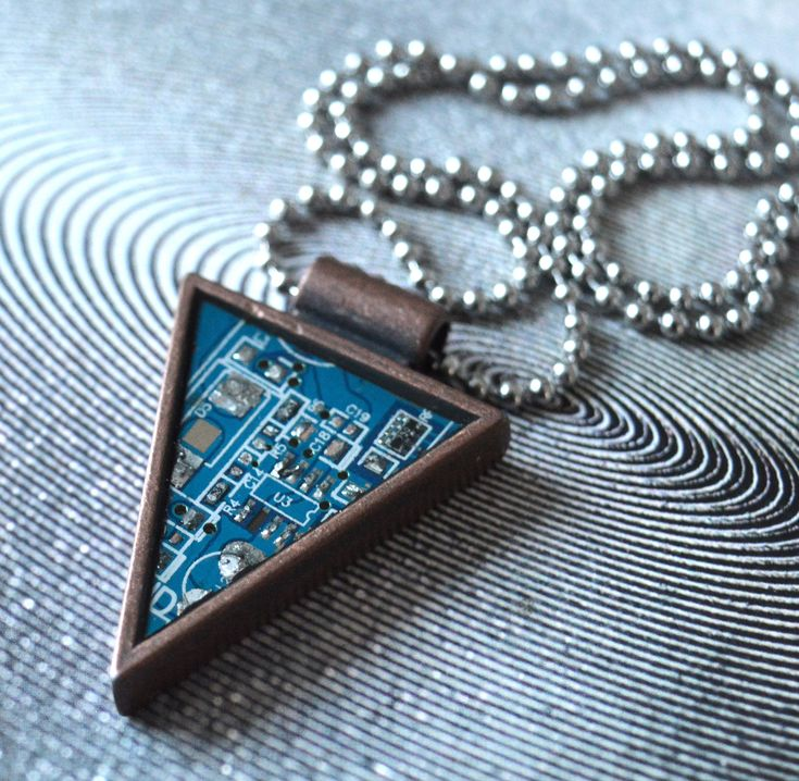 Excited to share the latest addition to my #etsy shop: Necklace, Circuit board necklace, gift for techie, computer geek, recycled motherboard jewelry http://etsy.me/2CwuXmG #jewelry #necklace #blue #fantasyscifi #silver #yes #unisexadults #stainlesssteel #steampunkjewe