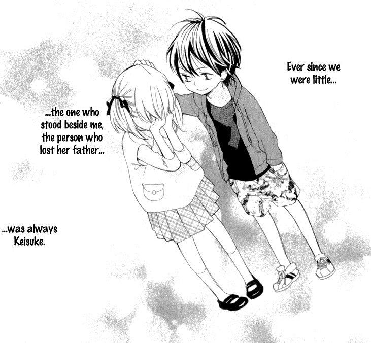 Anime childhood friend romance