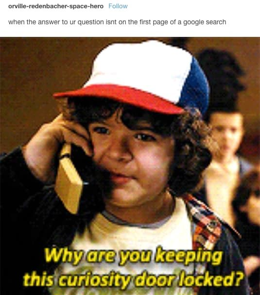 """15 Tumblr Posts About """"Stranger Things"""" That'll Make You LOL"""