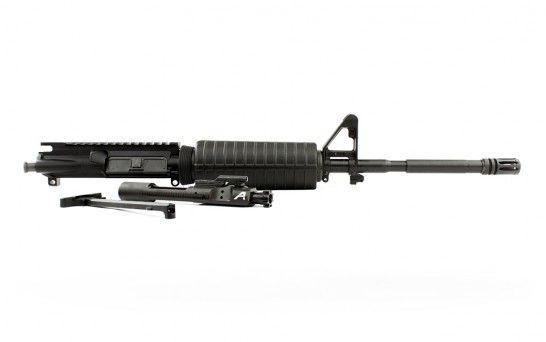 "Aero Precision AR15 16"" 5.56 Carbine Barrel Complete Upper w/ Pinned FSB & M4 Handguard"