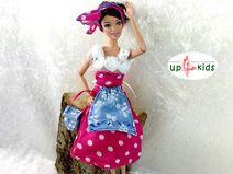 #Barbie Dirndl Glücksdirndl No. 2 für Modepuppen