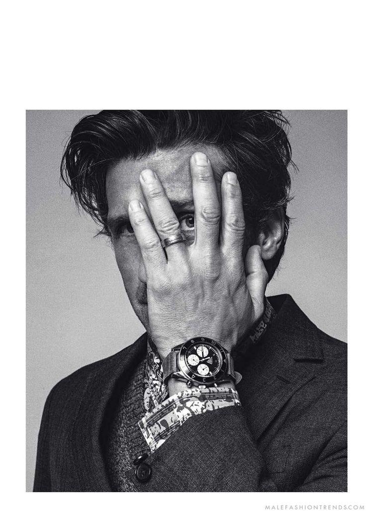 Male Fashion Trends: Patrick Dempsey posa en elegancia pura para Esquire Singapur