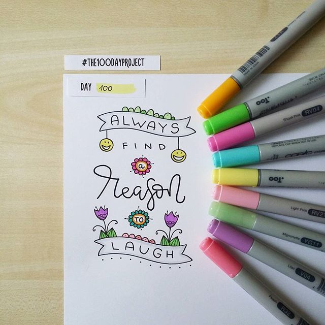 Yippee! I did it! #100daysofdooodles2 #100dayproject #100daysproject #drawing #draweveryday #lettering #doodle #markers #inspiration #instaart #рисунок #творчество #маркеры #леттеринг #вдохновение
