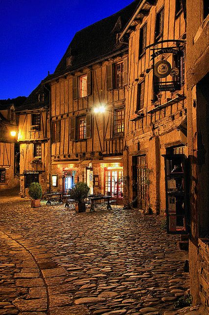 Beautiful medieval village - Conques, Aveyron, France