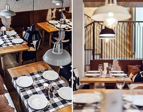 Restaurante rústico-chic... Qué ganas de viajar!