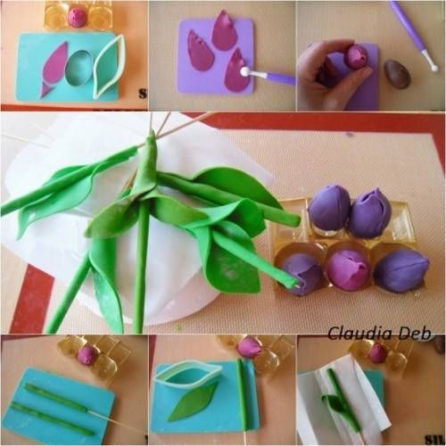 636 best images about gumpaste flowers on Pinterest ...