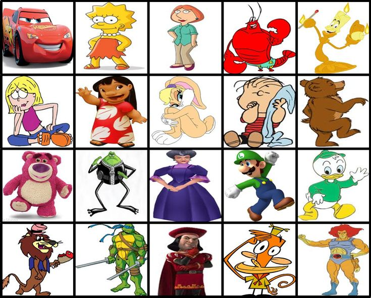 Cartoon Name: To Be Guessed In Order Also Try K