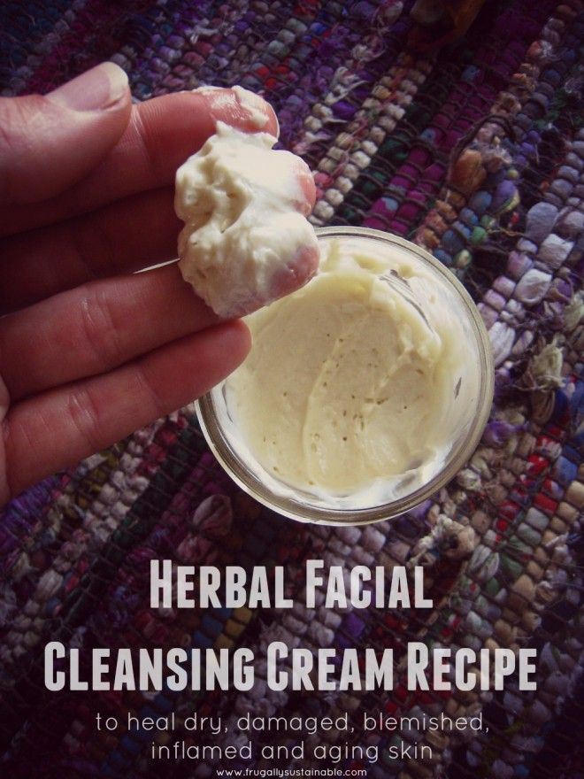 Herbal Facial Cleansing Cream Recipe