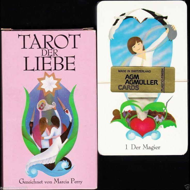 NEU! 78 Tarot Karten der Liebe Liebes Tarotkarten