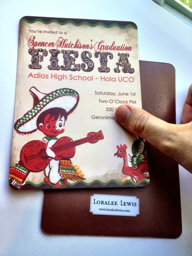9 best Fiesta Graduation Party images on Pinterest | Mexican party ...