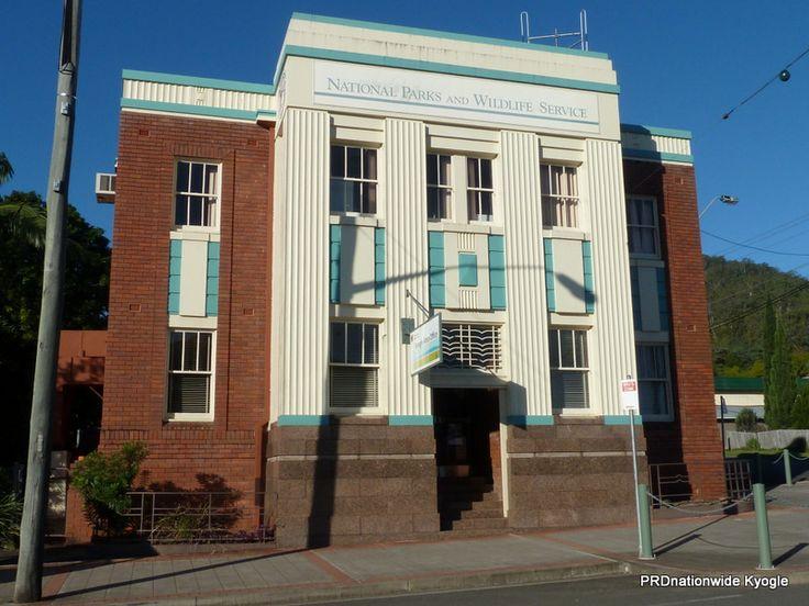 National Parks & Wildlife Services former Kyogle Bank of NSW. Built 1940